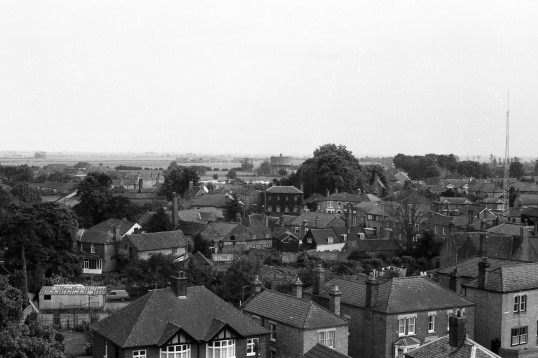 View from St Peter and St Pauls Church Tower. Stuart Stacey collection