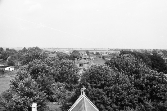 View to the East over the old vicarage. Chatteris. Stuart Stacey collection