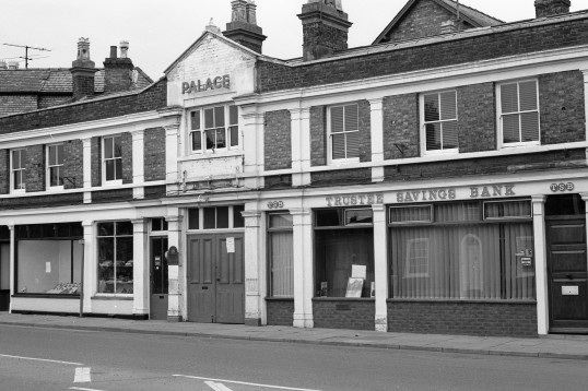 Palace /Trustee Savings Bank Market Hill from the Stuart Stacey Collection