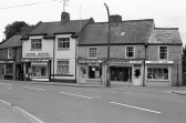 L Raven,Aspinalls, The Wallpaper shop,Geoffrey Bishop in High Street-Stuart Stacey Collection