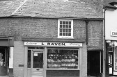 L Raven -Confectionery , Fruit  & Veg shop in High Street Chatteris-Stuart Stacey Collection