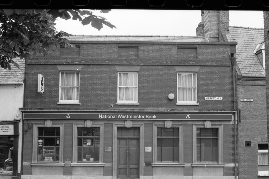 National Westminster Bank ,Market Hill,Chatteris-Stuart Stacey Collection