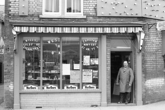 Newsagents /confectioners shop, Park Street, Chatteris-Stuart Stacey Collection