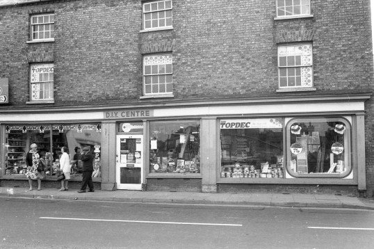 DIY  Centre High Street Chatteris- Stuart Stacey Collection