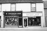 W Brewer & Son (Saddlers), Factory Shop ,in High Street Chatteris-Stuart Stacey Collection