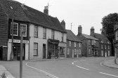 Parade of shops in High Street Chatteris-Stuart Stacey Collection