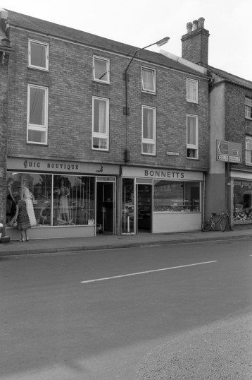 Chic Boutique & Bonnetts Bakery ,High Street Chatteris-Stuart Stacey Collection