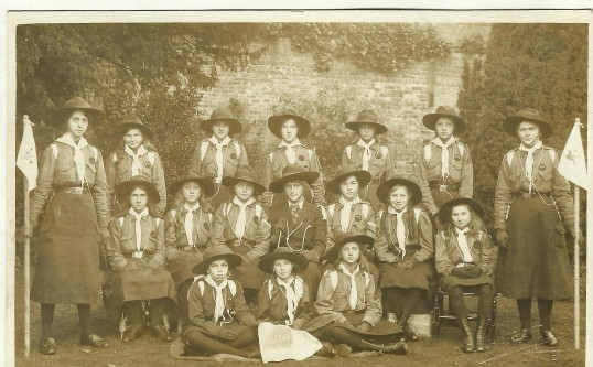 Girl Guides Chatteris 1914