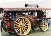 Steam Traction Engine at showground-Stuart Stacey Collection