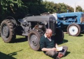 Tractors & Farming Machinery at showground (1)-Stuart Stacey Collection