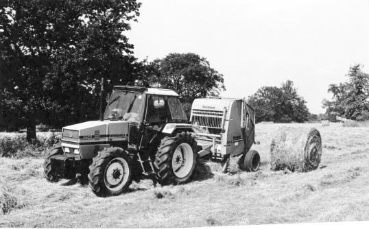 Harvesting Hay- Stuart Stacey Collection