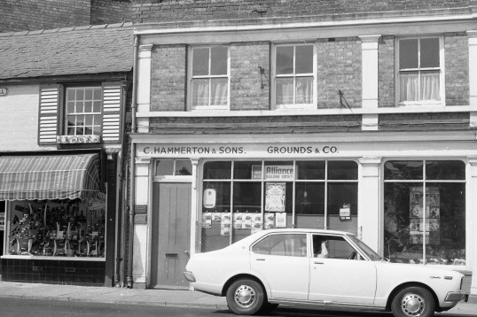 C. Hammerton & Sons , Grounds & Co. shop, Chatteris-Stuart Stacey Collection