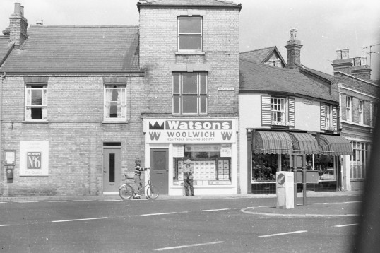 Watsons /Woolwich & Hiltons shoe shop,Chatteris-Stuart Stacey Collection