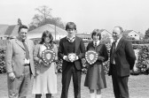 School trophy shield presentation, Chatteris-Stuart Stacey Collection