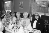 Social evening  dinner,Chatteris-Stuart Stacey Collection