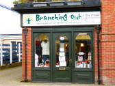 Branching Out Charity shop in High Street Chatteris