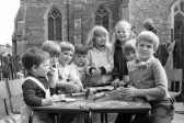 Group of Children in Church ground