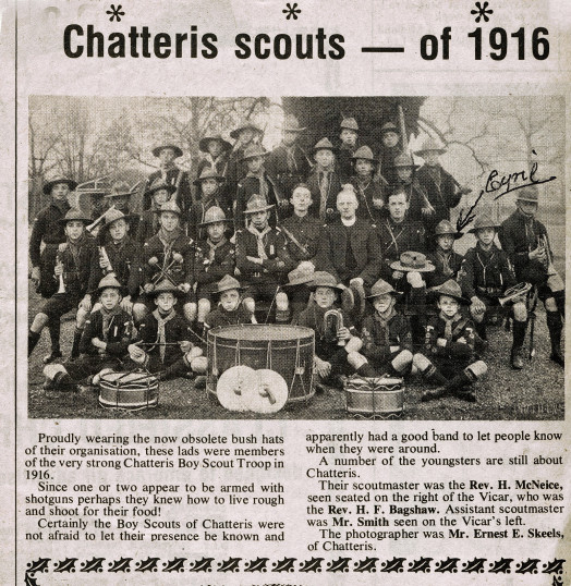 Chatteris scouts - of 1916