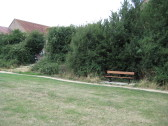 New seat , Wenny Recreation Ground, Chatteris