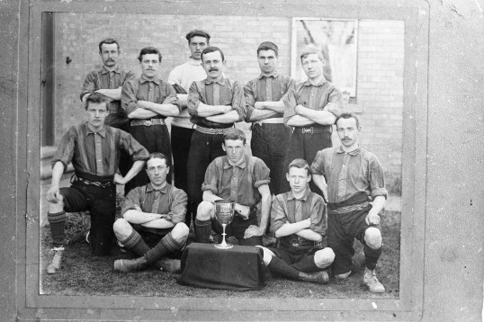 Chatteris St Peter's Football Team, Stuart Stacey collection