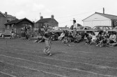 First past the winning line ! Chatteris Sports Day.