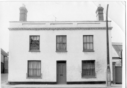 18 Market Hill Chatteris - Former Premises of The Crown Public House.  Part of the Stuart Stacey Collection.