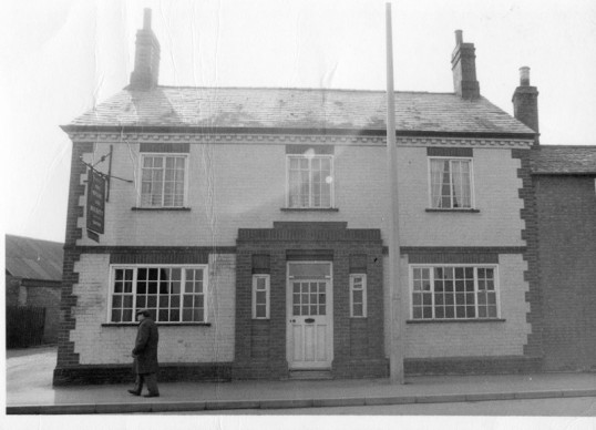Silver Jubilee Public House, High Street, Chatteris. From Stuart Stacey Collection