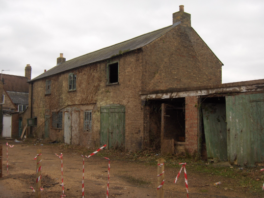 Building on Railway Lane said to be former Rope Making Works