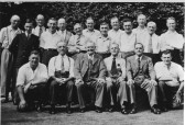 Group of gentleman - presumably Chatteris men- Can you help