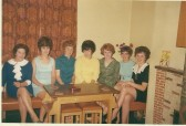 Vera Stacey and group of ladies from the Stuart Stacey Collection.