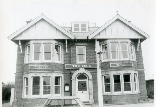 The Cock Public house -Stuart Stacey Collection