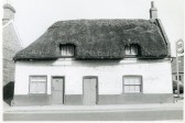 Thatched cottage in High Street, Chatteris-Stuart Stacey Collection