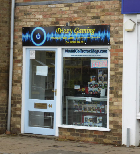 Dizzy Gaming shop in High Street, Chatteris