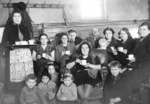Salvation Army and evacuees