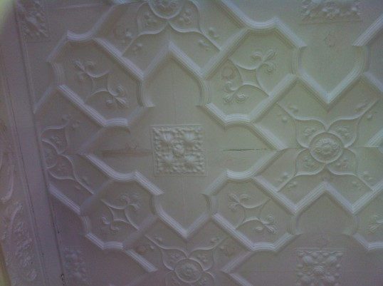 Moulded Ceiling Section