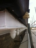 Grove House - Soffit and Guttering