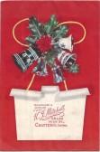 Christmas gift envelope. K.J Mitchell, 58 & 60 High St