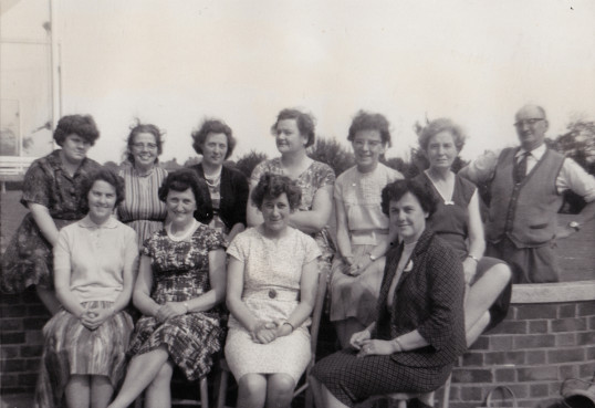 Burnsfield school staff 1965