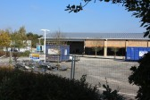 Aldi Supermarket, Chatteris, being constructed from closed Cooperative Supermarket building.