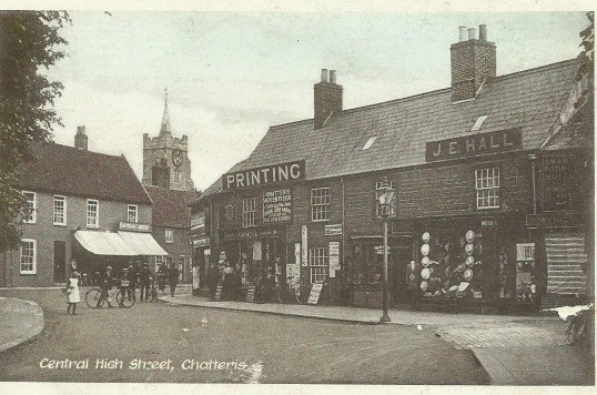 High Street, Chatteris. Featuring Aspinalls and Brewers shops