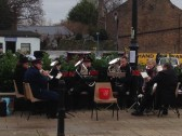 Salvation Army Band Playing in Chatteris High Street, Christmas Eve 2015