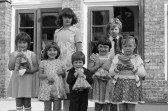 Children  pose for photograph - Stuart Stacey Collection