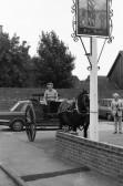 Horse & Cart outside Honest John public house-Stuart Stacey Collection