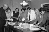 Distributing correspondence -Stuart Stacey Collection