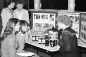 Stall selling Schweppes Foods-Stuart Stacey Collection