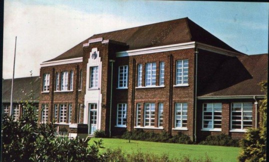 Post Card of Cromwell School