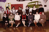 Burnsfield Infants school teachers 1985