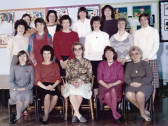 Burnsfield Infants school teachers 1986