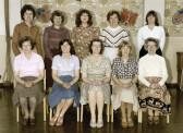 Burnsfield Infant school teachers 1981