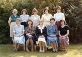 Burnsfield Infant school teachers 1982